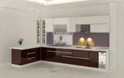Tủ bếp Acrylic 75