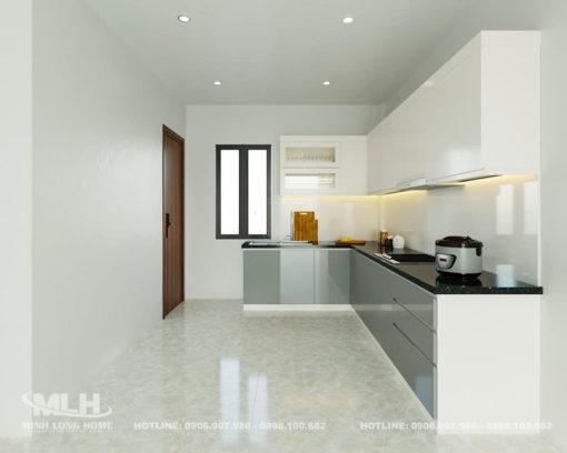 Tủ bếp Acrylic ML 100
