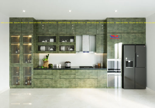 Tủ bếp Acrylic ML 82 thiết kế tủ bếp