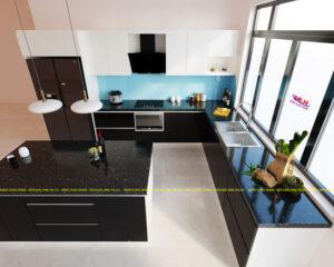 Tủ bếp Acrylic ML 83 thiết kế theo yêu cầu