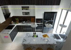 Tủ bếp Acrylic ML 84 Thiết kế nội thất bếp