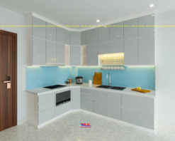 Tủ bếp Acrylic ML 85 Thiết kế bếp
