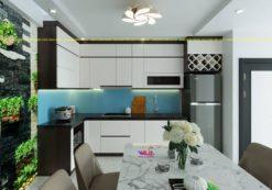 Tủ bếp Acrylic ML 88 thiết kế phòng bếp