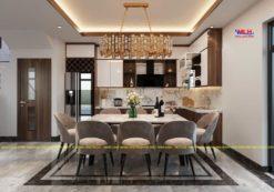 Tủ bếp Acrylic ML 89 thiết kế nội thất bếp