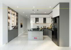 Tủ bếp Acrylic ML 90