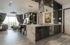 Tủ bếp Acrylic ML80 thích hợp cho căn hộ cao cấp