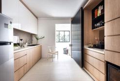 Tủ bếp Laminate Ml 96 đẹp rẻ