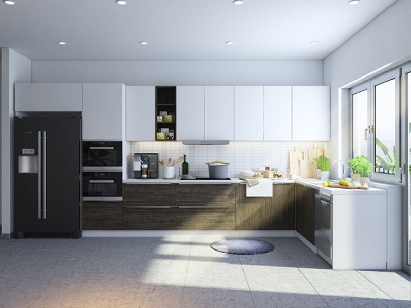 Tủ bếp Laminate ML 97 đẹp