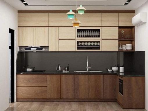 Tủ bếp Laminate ML 98 đẹp