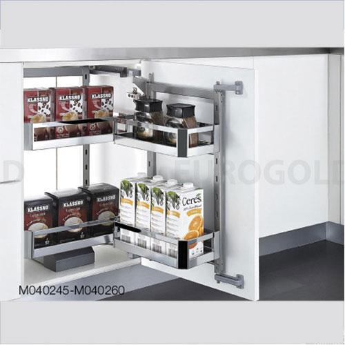 Hệ giá khô 2 tầng inox hộp cánh mở EuroGold
