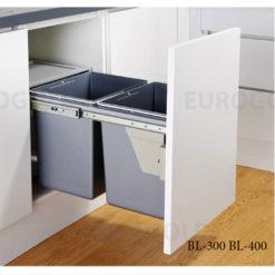 Thùng rác âm tủ gắn cánh Eurogold