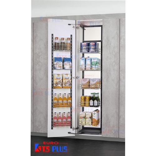 Tủ đồ khô inox nan tròn 6 tầng Eurokits TK.24A VIP