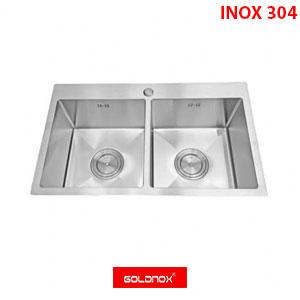 Chậu rửa chén inox Goldnox GN7545