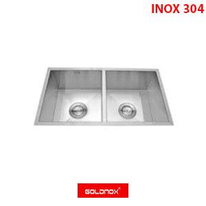 Chậu rửa chén inox Goldnox GN9845