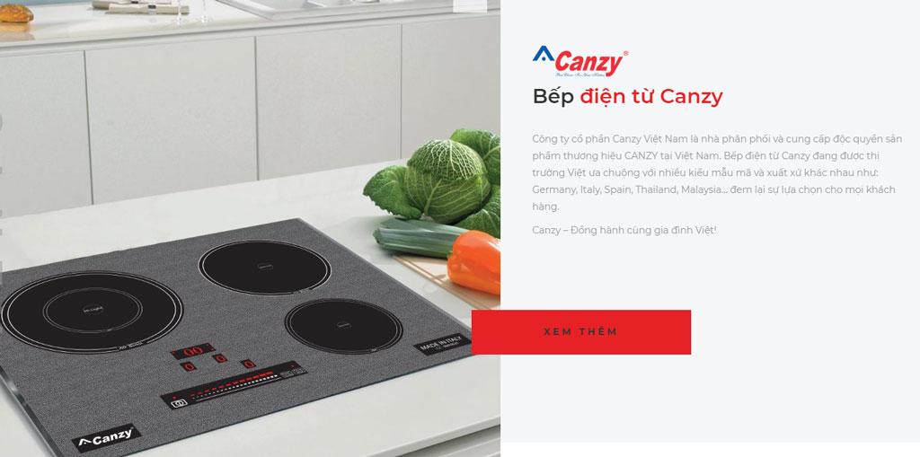 Bếp điện từ Canzy